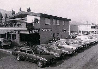 Auto Bucher AG, Buochs, 1980, Fadenbrücke
