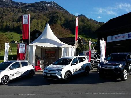Auto Bucher AG am Ob- und Nidwaldner Kantonalschwingfest - alles ist bereit!