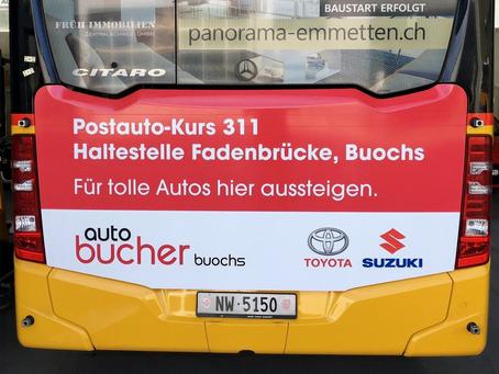 Postautowerbung