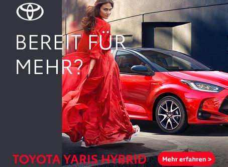 Jetzt erhältlich - der neue Toyota Yaris