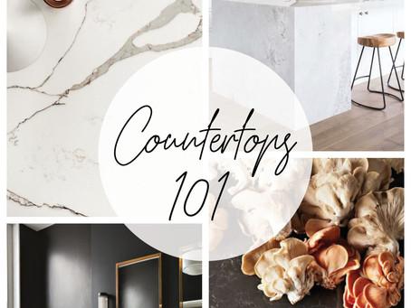 COUNTERTOPS 101