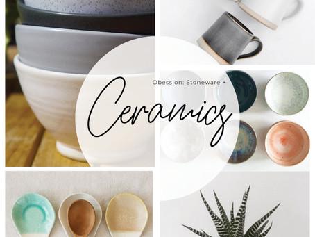 CERAMICS + STONEWARE