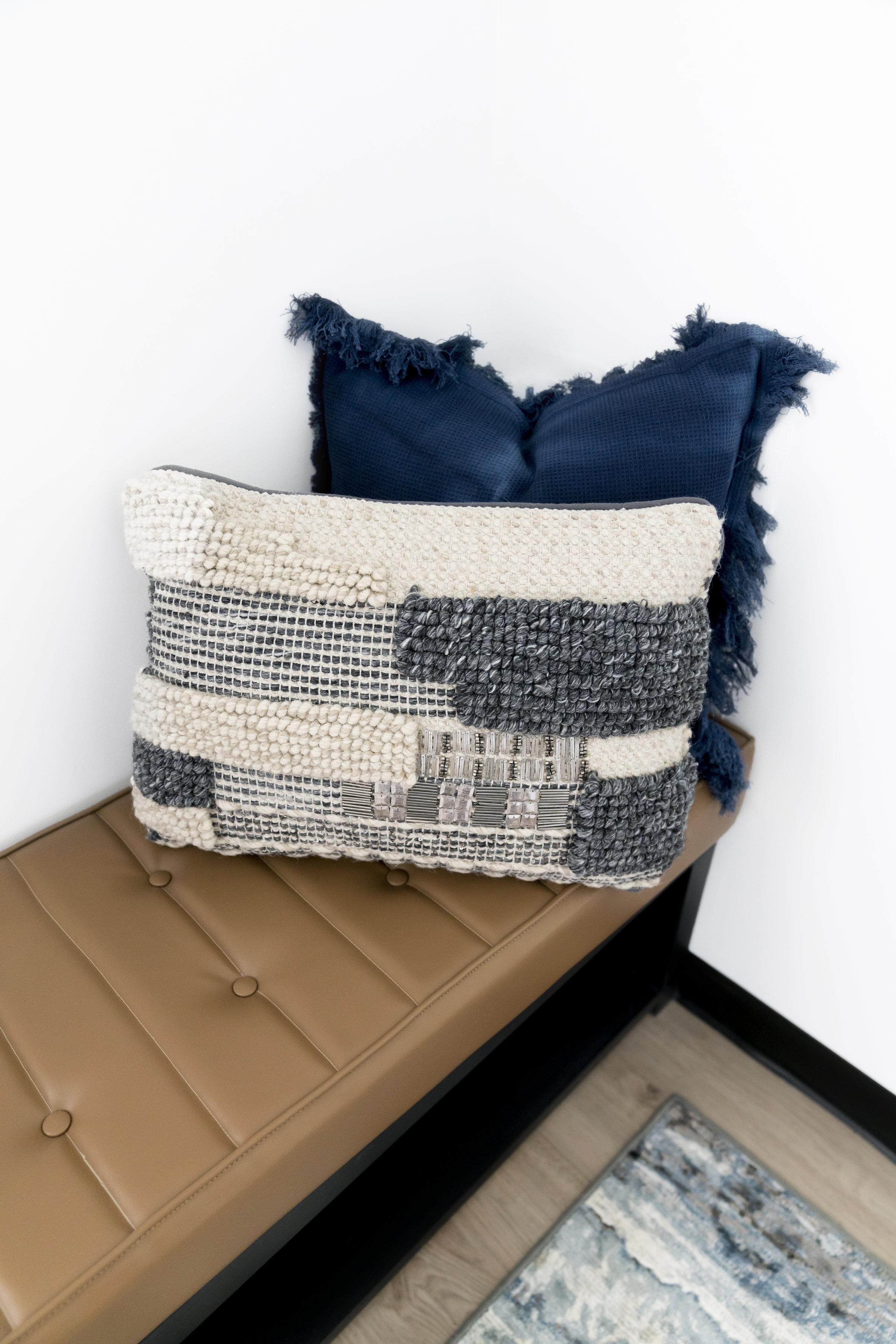 Textured Throw Pillows