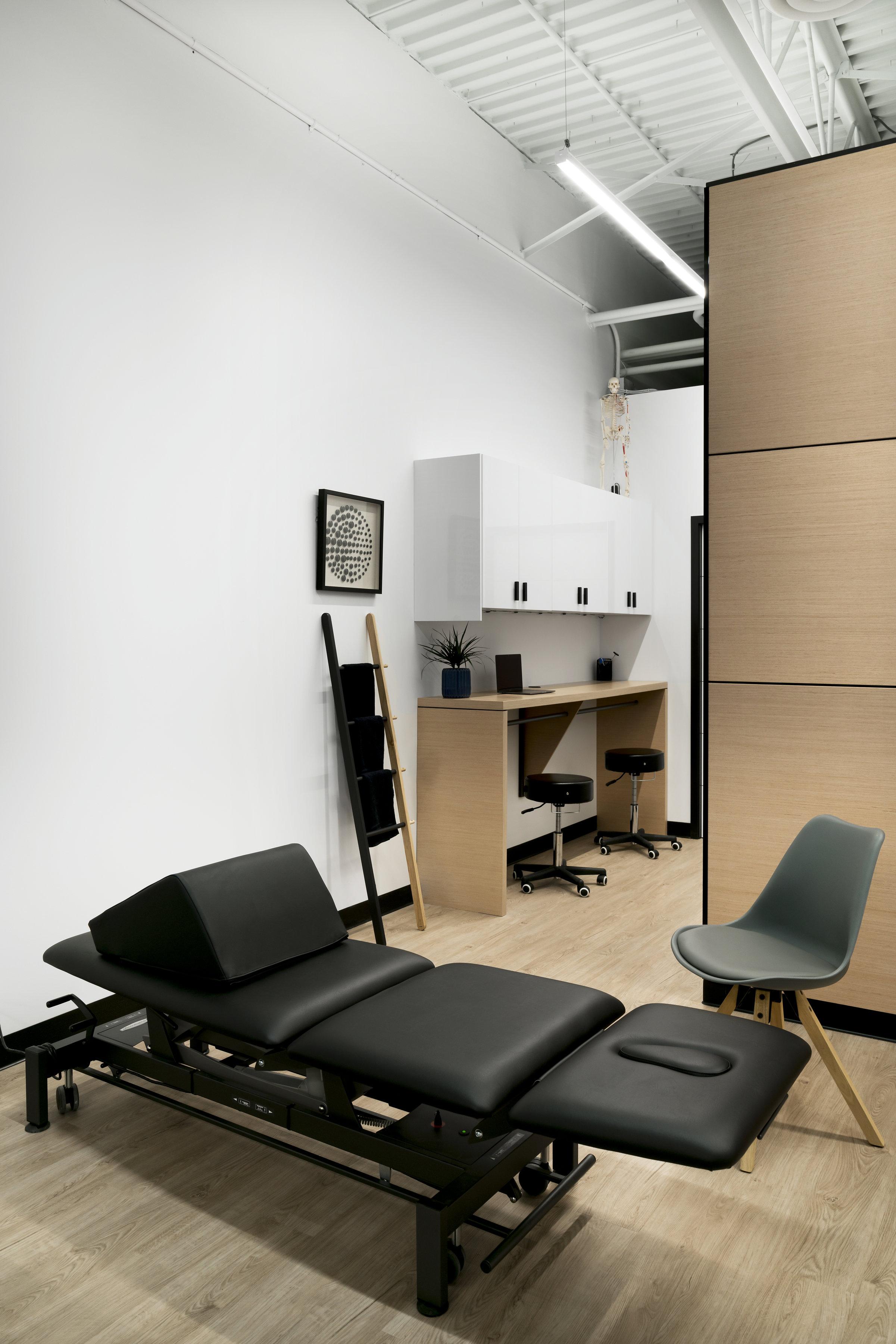 Physio Clinic Interior Design