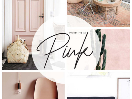 DESIGNING WITH PINK