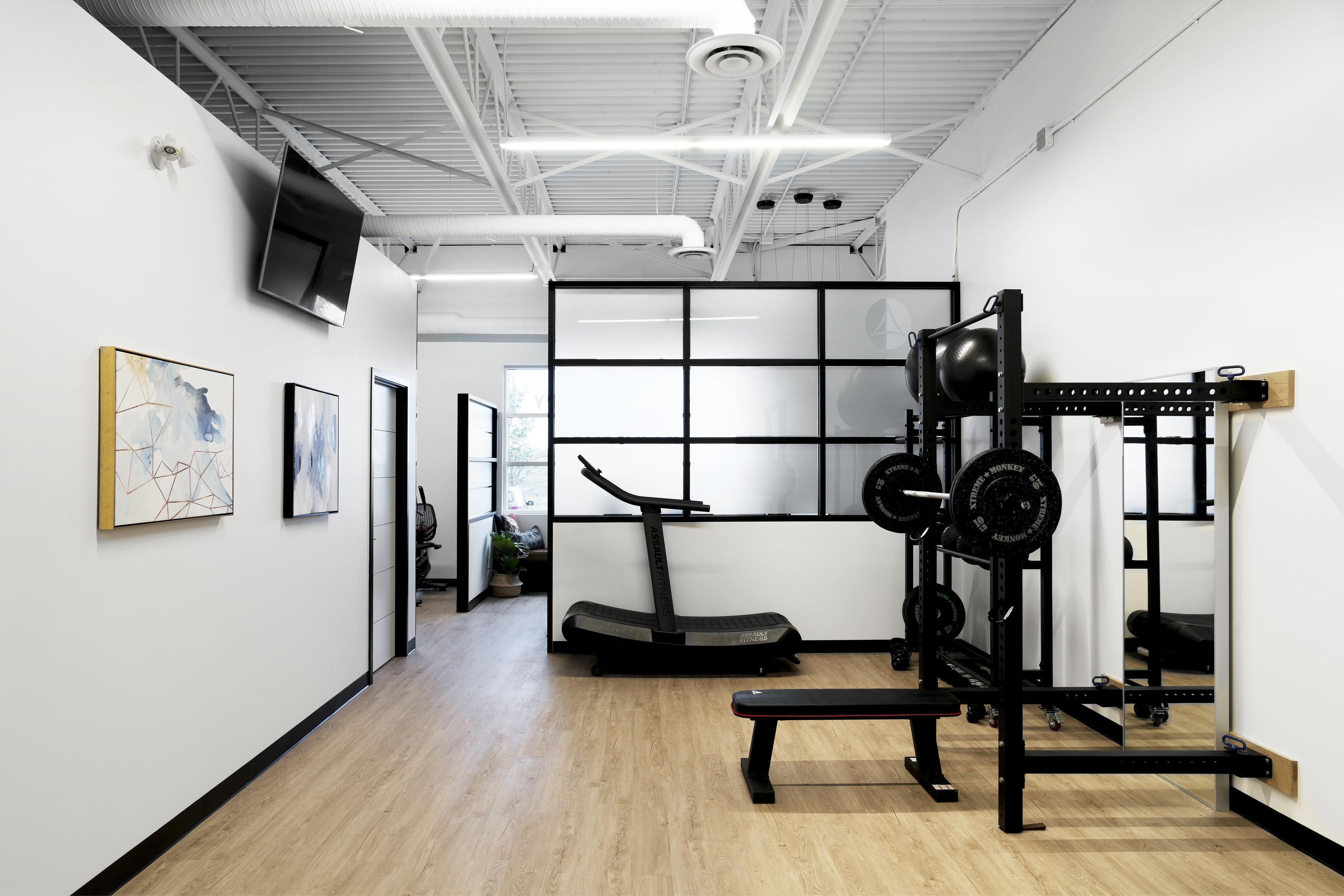 YYC Gym Interior Design