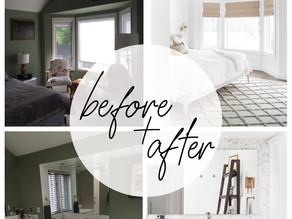 BEFORE + AFTER: DREAMY MASTER SUITE
