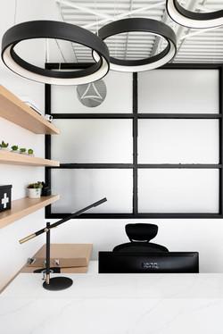 White and Black Interior Design