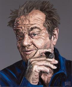 Jack Nicholson in Impasto