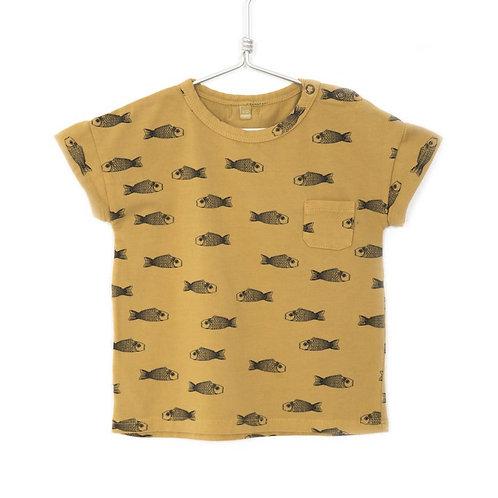 Lotiekids T-Shirt Ocra - Pesci
