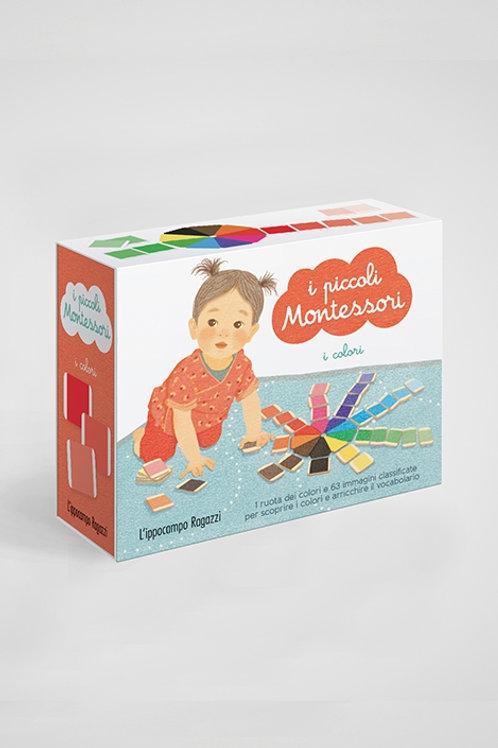 I piccoli Montessori. I colori