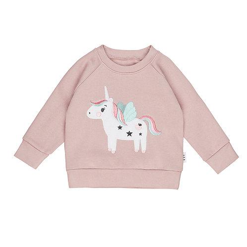 Huxbaby Felpa Felpata Rosa - Unicorno