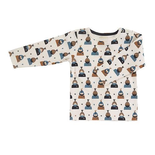 Pigeon T-Shirt a Maniche Lunghe - Indiani