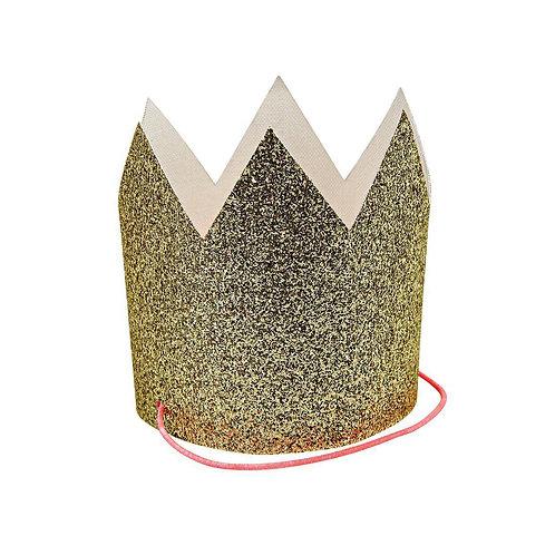 Meri Meri Corona - Glitter Oro
