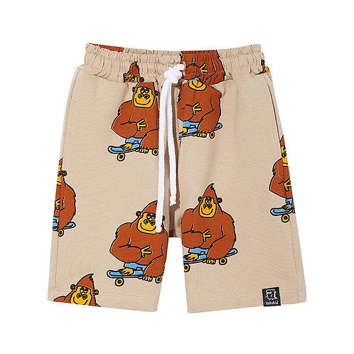 KukuKid Pantaloncini Beige - Gorilla