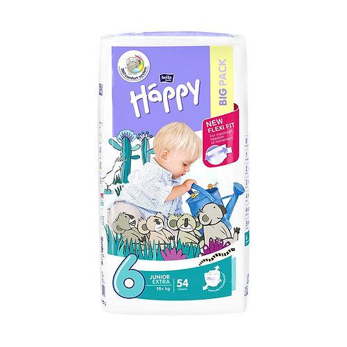 Pannolini Happy BellaBaby – 6 Junior extra 16+kg – 54 pezzi