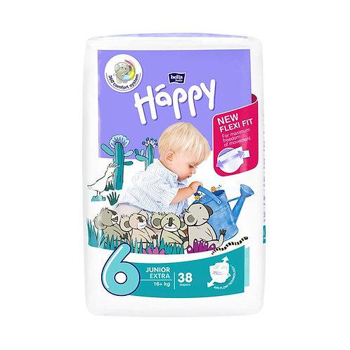 Pannolini Happy BellaBaby – 6 Junior extra 16+kg – 38 pezzi