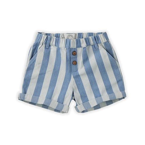 Sproet & Sprout Pantaloncini a Righe - Azzurro e Bianco