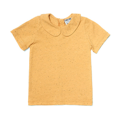 CarlijnQ T-shirt - Ocra