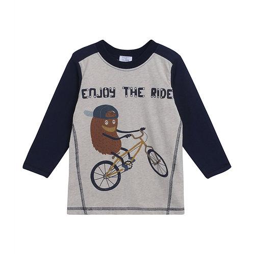 Hust & Claire T-Shirt Grigia - Bike