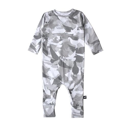 Mói kidz Pagliaccetto Camuflage – Grigio