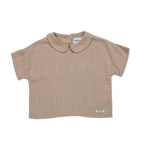 Donsje T-Shirt Verde - Sabbia