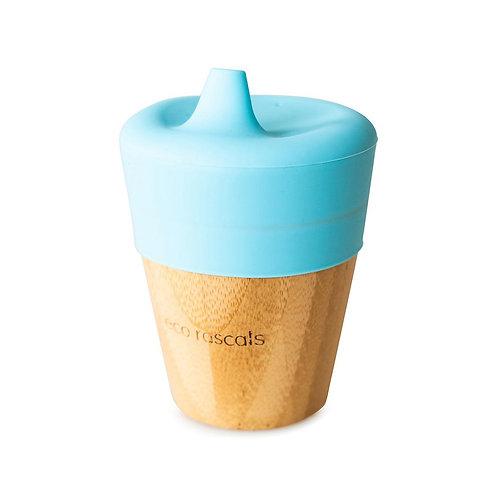 Eco Rascals Bicchiere con Beccuccio - Azzurro