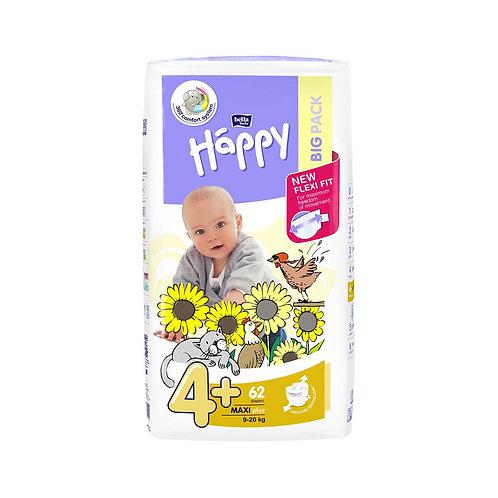 Pannolini Happy BellaBaby – 4+ Maxi plus 9/20kg – 44 pezzi