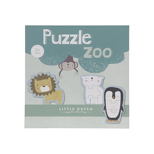 Little Dutch Puzzle Zoo