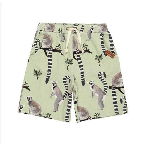 Walkiddy Pantaloncini Verdi - Lemuri