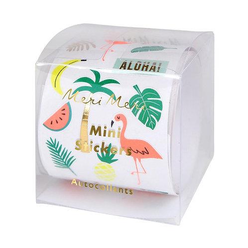 Meri Meri Mini Adesivi -Tropicali