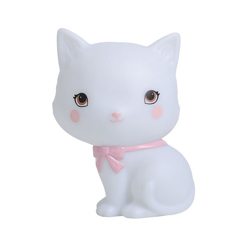 A Little Lovely Lampada a Led - Gatto