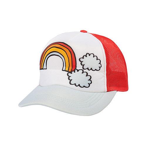 KukuKid Cappello con Visiera - Arcobaleno