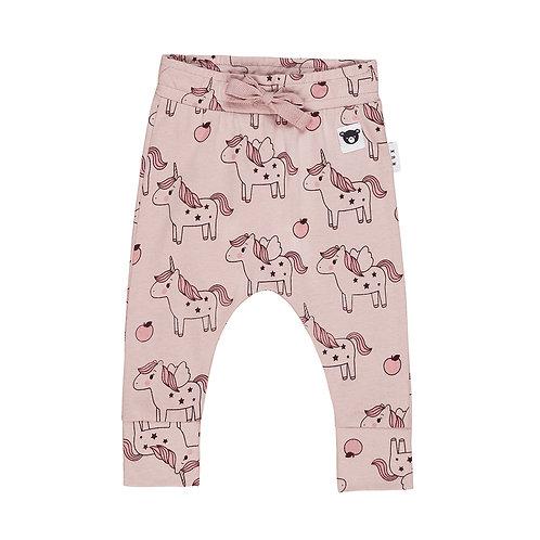 Huxbaby Pantaloni Rosa - Unicorni