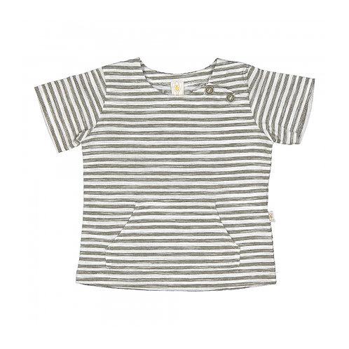 Filobio T-Shirt in Cotone - Righe