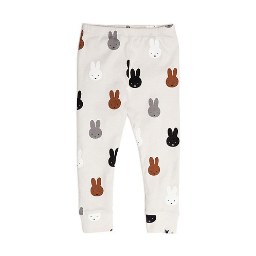 Tobias and the Bear Leggings Bianchi - Conigli