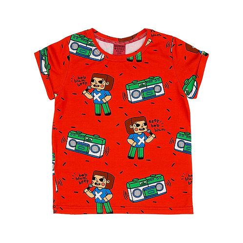 Raspberry Republic T-Shirt Rossa - Music