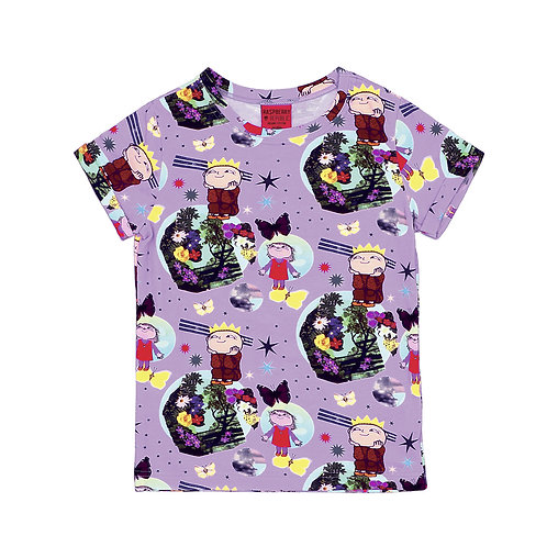 Raspberry Republic T-Shirt Viola - Alfie Atkins