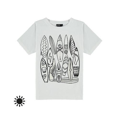 Yporqué T-Shirt che si colora a sole - Surf