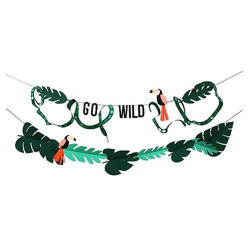 Meri Meri Ghirlanda - Go Wild
