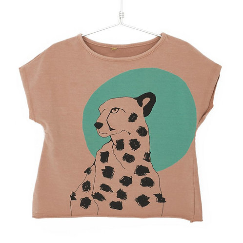 Lotiekids T-shirt Rosa - Ghepardo