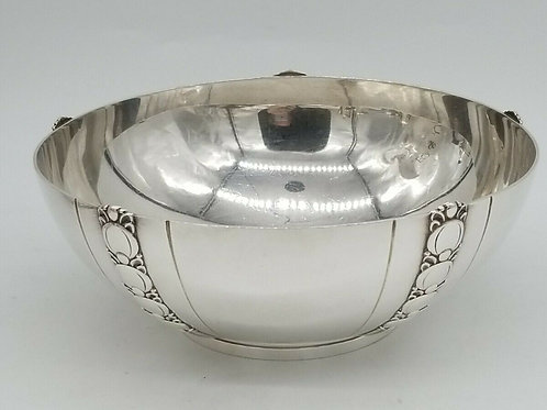 TIFFANY & CO. STERLING SILVER TOMATO EXPOSITION PATTERN BOWL