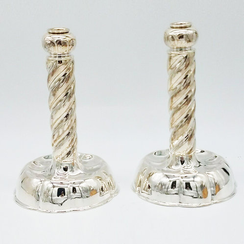 TIFFANY & CO. STERLING SILVER ARTS & CRAFTS CANDLESTICKS