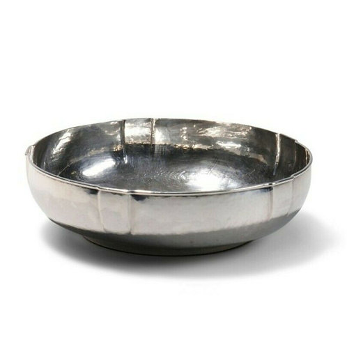 HAND WROUGHT STERLING SILVER BOWL BY ANNA EICHER
