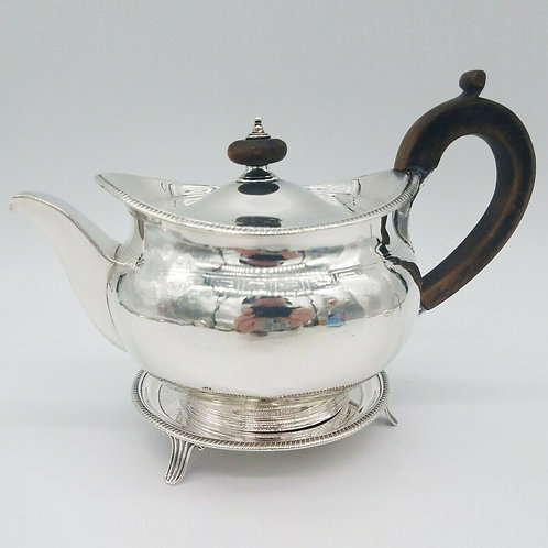 ENGLISH STERLING 3 PIECE PART TEA SERVICE HENNELL I & HENNELL LONDON