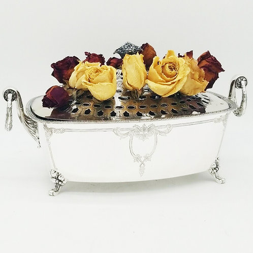 STERLING SILVER FLOWER CENTERPIECE BY INTERNATIONAL