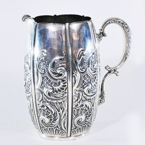 WHITING STERLING SILVER AESTHETIC STYLE PITCHER
