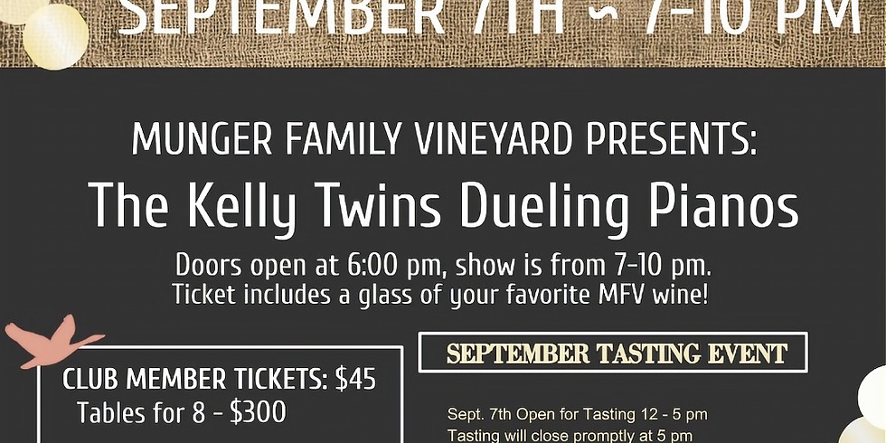 Kelly Twins Dueling Piano Night