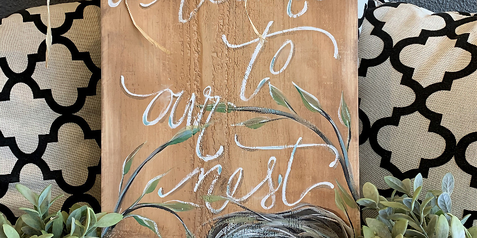Paint & Sip with Christina May