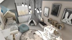 pokój dziecięcy_projekt wnętrza_Lubin_Designbox_Bednarska_Małek_3